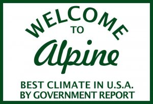 Welcome to Alpine Sign T-Shirt